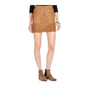 Free People Come A Little Closer Skirt Size 12